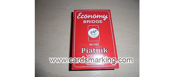 Unsichtbare Tinten Piatnik Markierte Karten Poker