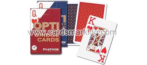 Unsichtbare Tinte für Piatnik OPTI Spielkarten