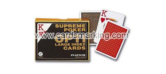 Leuchtende Markierung Piatnik Poker Karten