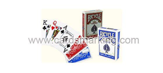 Kunststoff Bicycle Zaubertrick Markierte Poker Karten