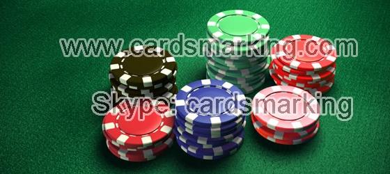 Poker Chip Scanning Kamera für Saft markierte Karten