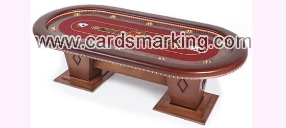 Markierte Barcode-Karten Poker tisch Inspektor