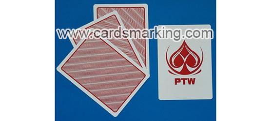 Unsichtbare Tinte zu Markierten PTW Poker Karten