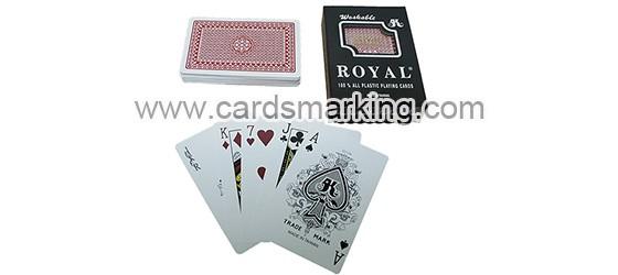 Infrarot Royal markierte Karten Poker
