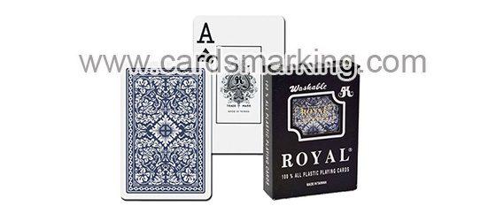 Royal markierte spielkarten