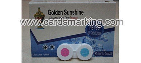 UV-unsichtbare Tinten Kontaktlinsen