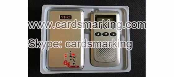 YT-K1 Sprechanlage für magische Spiele Kartenspiele